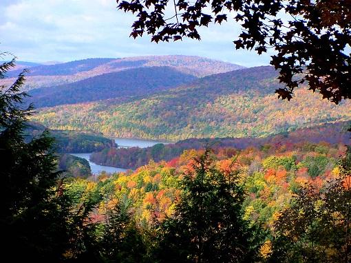 fall mountain colors