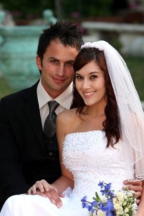 groom bride
