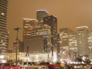 Houston romantic city lights