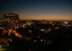 Philly night skyline
