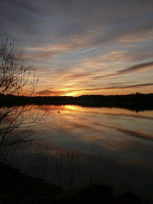 archipelago sunset