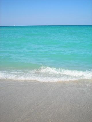 aqua Atlantic Ocean water